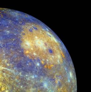 Bazinul Caloris ©NASA