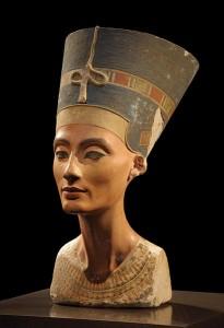 Bustul Reginei Nefertiti Foto © Philip Pikart