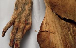 Tatuaje pe mumii