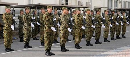Armata japoneza, foto: tofugu.com