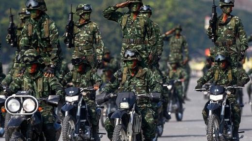 Armata thailandeza foto: newshopper.sulekha.com