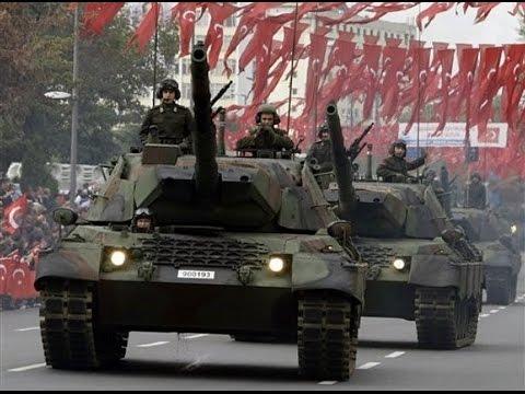 Armata turcă in timpul unei parade. Foto: youtube.com
